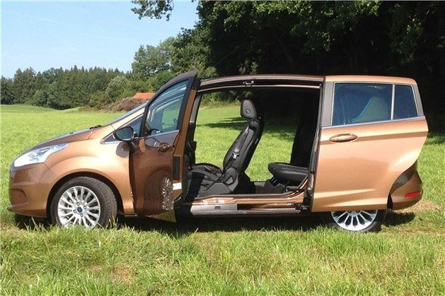 Ford B-Max Open Side