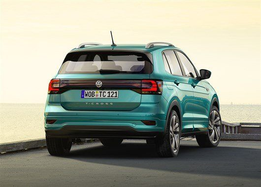 Volkswagen T-Cross small crossover revealed in Europe