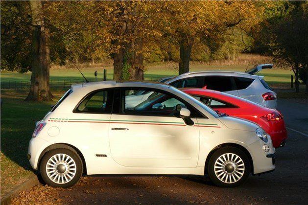 FIAT 500 ROO Side Sunset