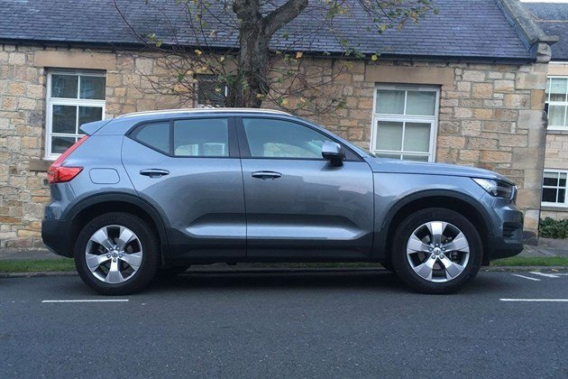 Volvo XC40 T3 2018 Side Grey Standard