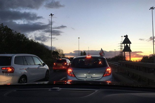 Volvo XC40 T3 2018  Traffic Jam Nottingham
