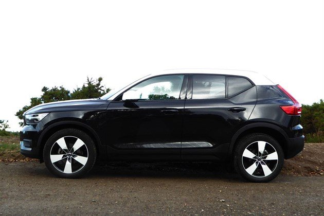 Volvo XC40 T3 2018 Side Horizon