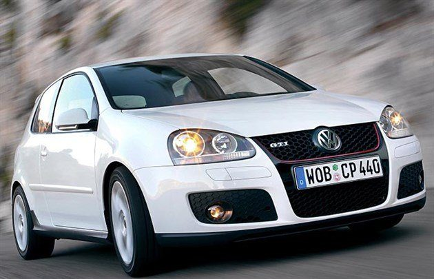 VW Golf V GTi 05 White 700