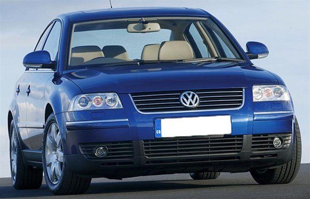 VW Passat 2004 Facelift Retouched