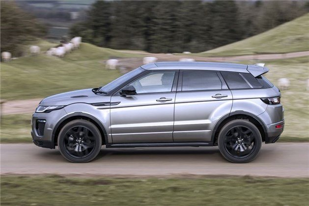 Range Rover Evoque 5-door 2016 Side