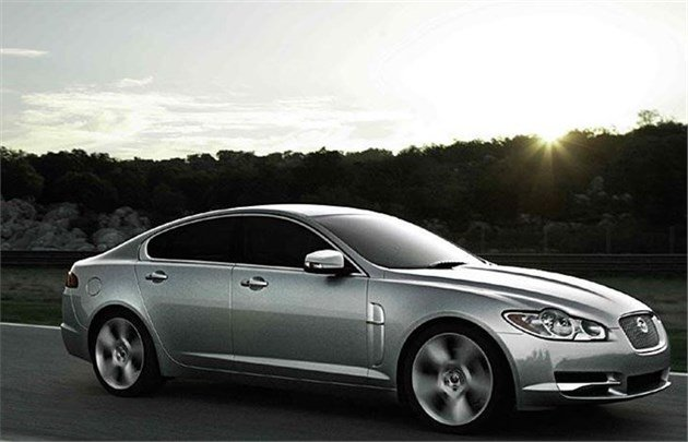 Jaguar XF 2009 F34 Speed