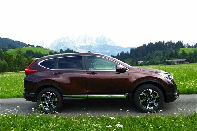 Honda CR-V 2018 7-seat Side Mountains