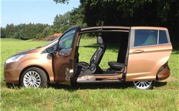 Ford B-Max 2012 Side Open