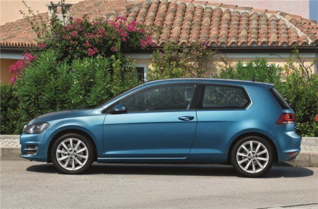 Volkswagen Golf 20133-door Side