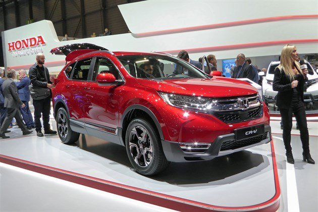 Honda CR-V 2018 F34 Red