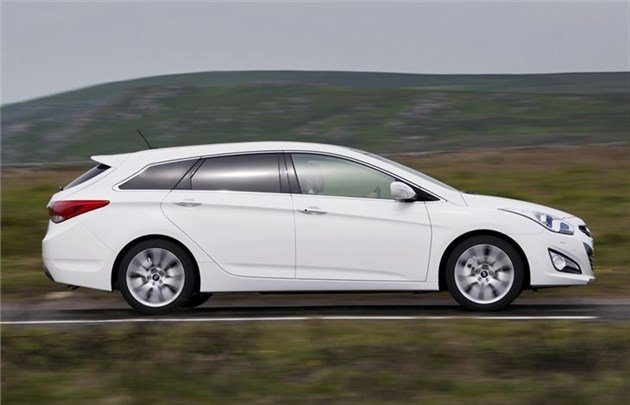 Hyundai I 40 Tourer Side