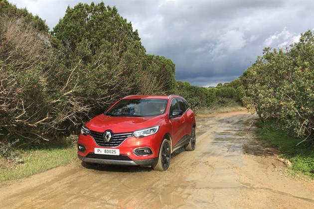 Renault Kadjar 2019 EDC Red Wet Track