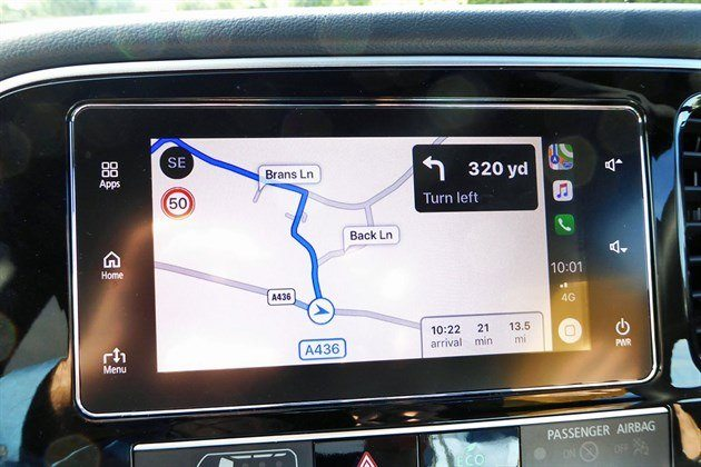 Mitsubishi Outlander PHEV 2019 Satnav Screen (1)