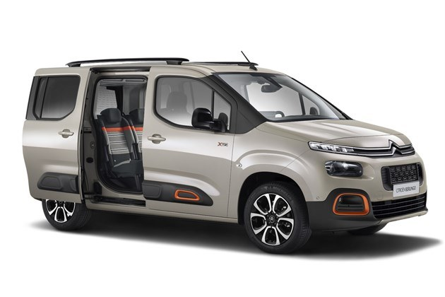 Citroen Berlingo Multispace 2018 Door Open