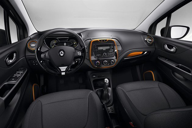 Renault Captur Dash Orange