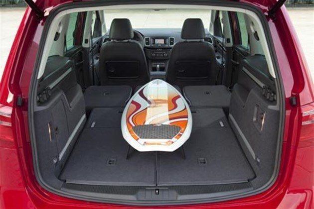 SEAT Alhambra II Red 7 Load 700