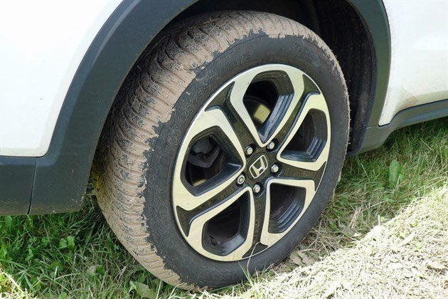 Honda HRV Rear Cross Climate Mud