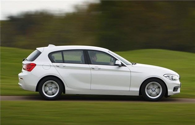 BMW 1-Series 2015 Side Speed Whitejpg