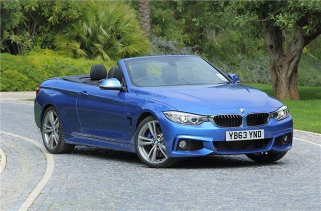 BMW F33 4-Series Convertible F34