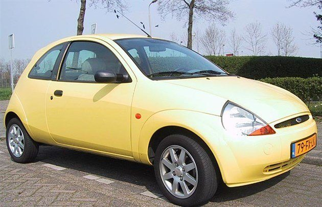Ford Ka Collection Yellow 700