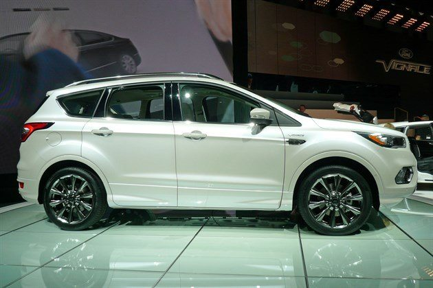 Ford Kuga Vignale 2016 Side