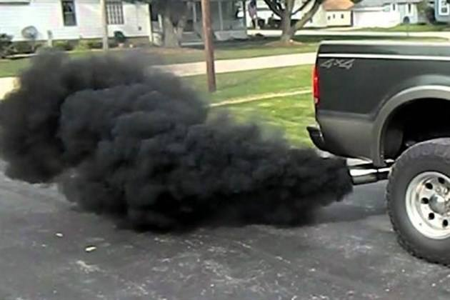 Smoking Exhaust
