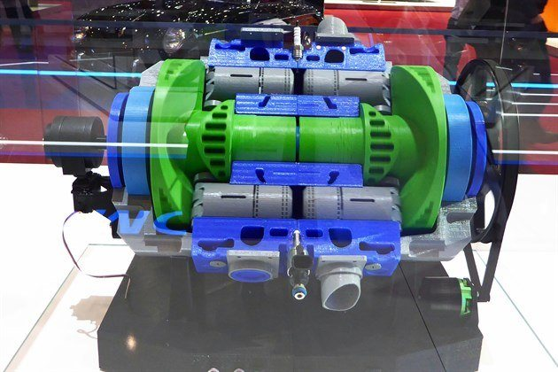 Saudi Aramco Achates Power Opposed Piston Engine 2