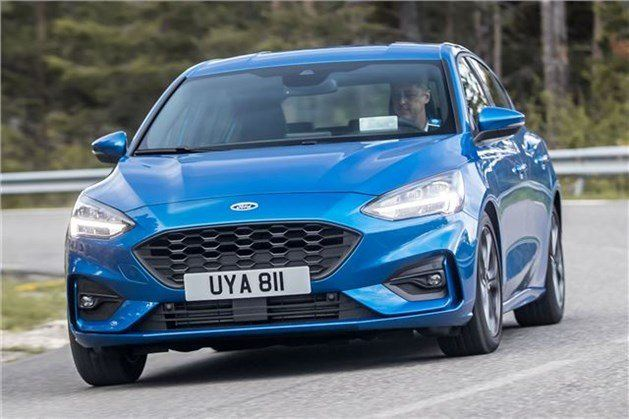 Ford Focus 2018 F34 Driving
