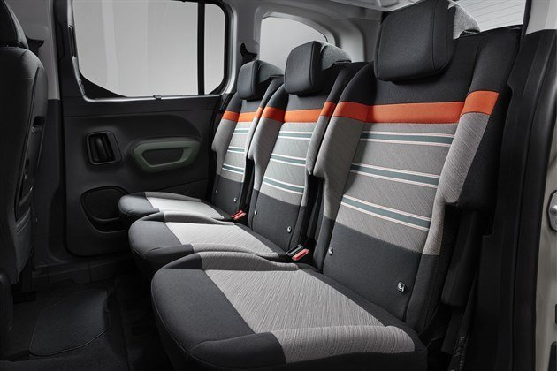 Citroen Berlingo Multispace 2018 Back Seats