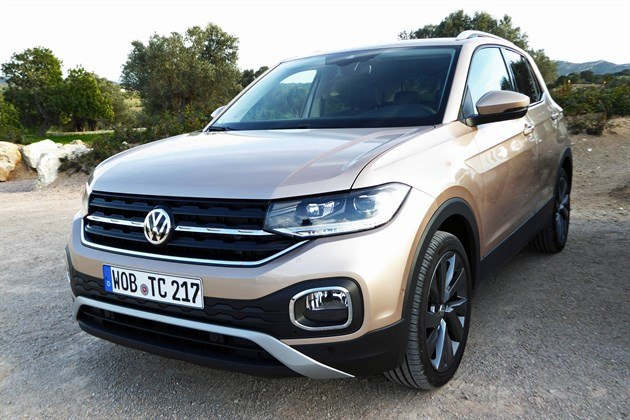 VW T-Cross 2019 F34 Champagne