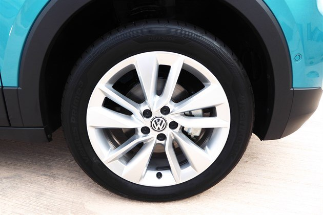 VW T-Cross 2019 17-inch Wheel