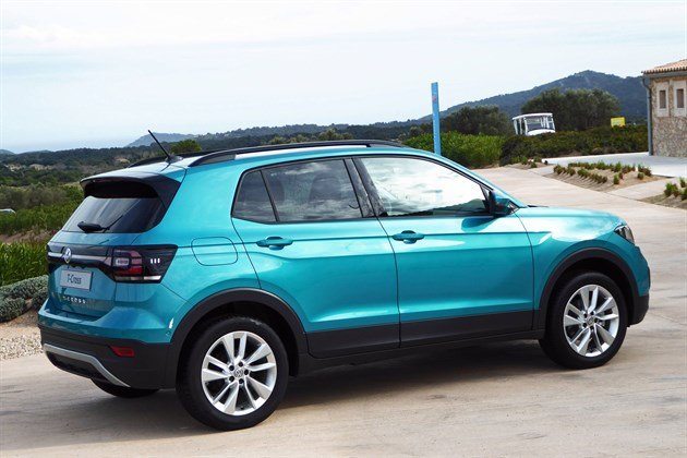 VW T-Cross 2019 R34 Blue