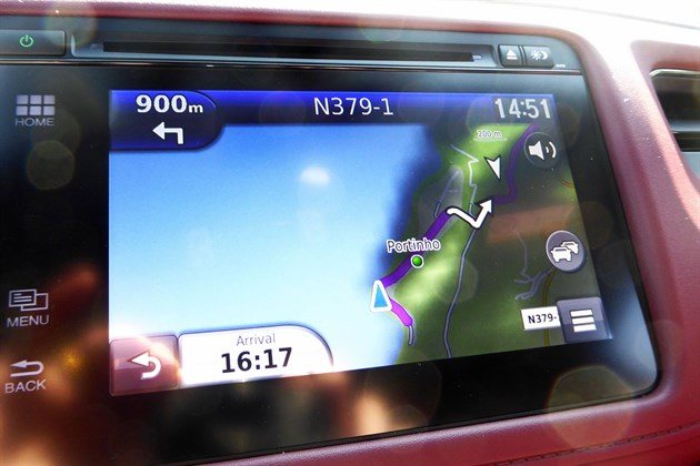 Honda HR-V Sport Satnav Screen Portinau