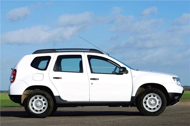 Dacia Duster Access Side White