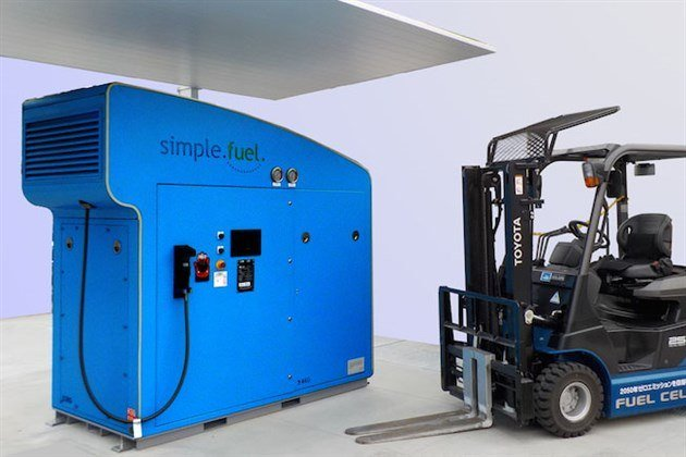 Toyota Simple Fuel Hydrogen Station 2