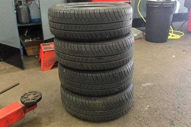 Michelin Energy Saver Tyre Pile