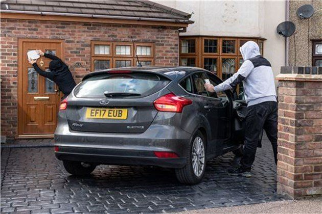 Ford Keyless Theft Staged Photo