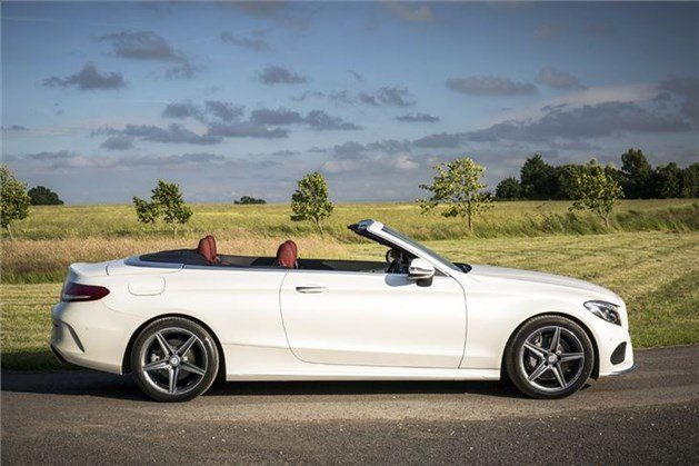 Mercedes C-Class Cabriolet 2017 Side