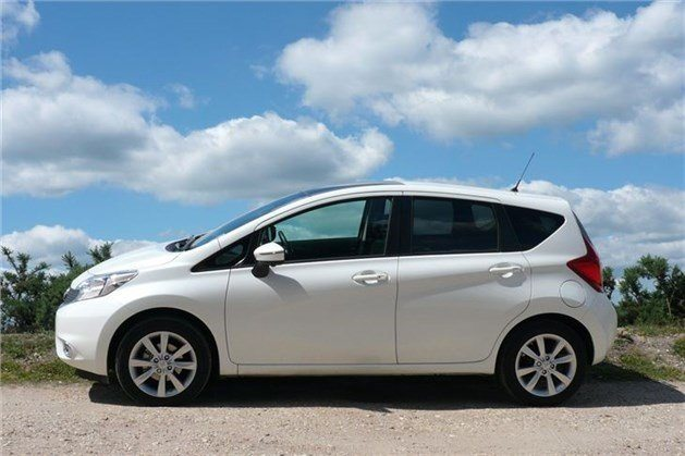 Nissan Note 2014 Side White