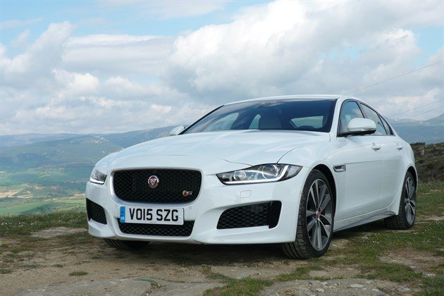 Jaguar XE F34 Close