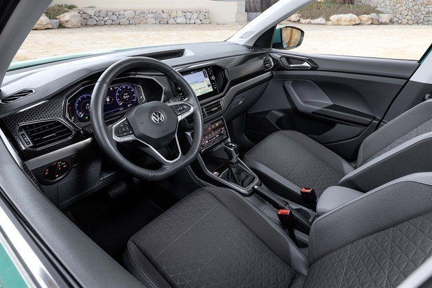 VW T-Cross 2019 Cockpit And Seats