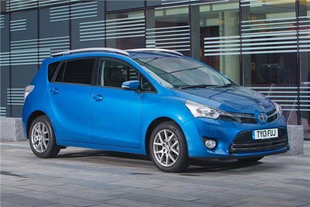 Toyota Verso Facelift 2017 F34