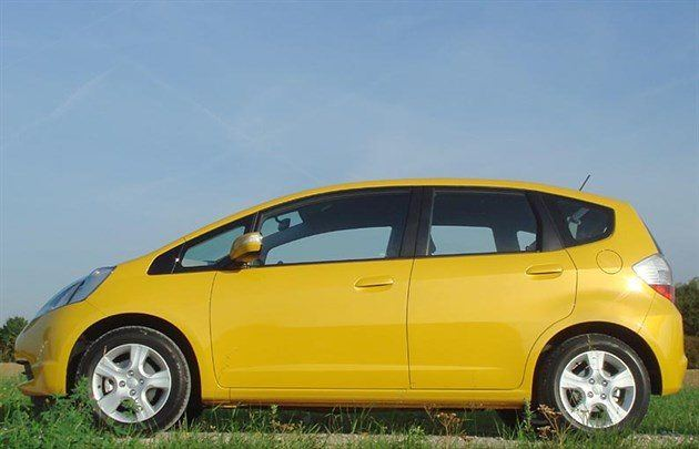 Honda Jazz 2009 Side 700