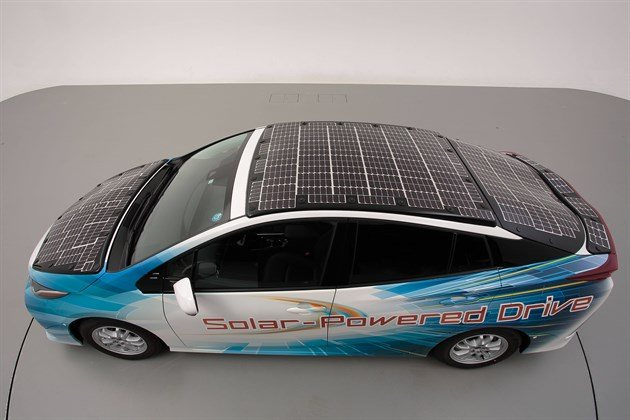 Toyota NEXO Solar Powered Prius Top