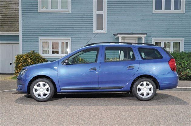 Dacia Logan MCV Side Blue