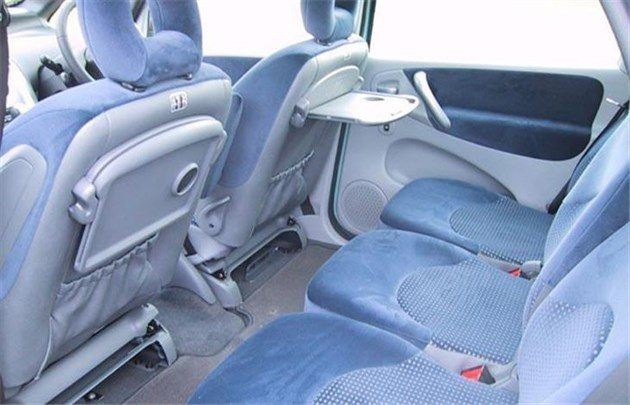 Citroen Xsara Picasso Three Rear Seats