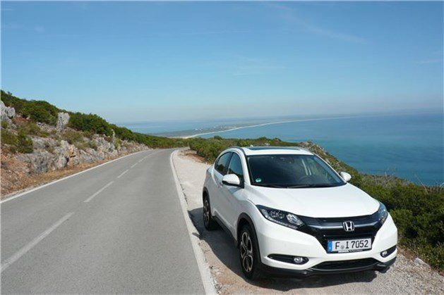 Honda HRV 2015 F34 Against Coastline
