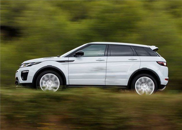 Range Rover Evoque Side Speed