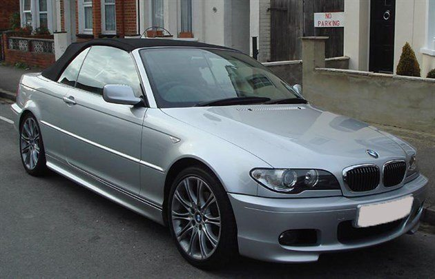 BMW E46 3-Series Facelift Cabrio Obscured