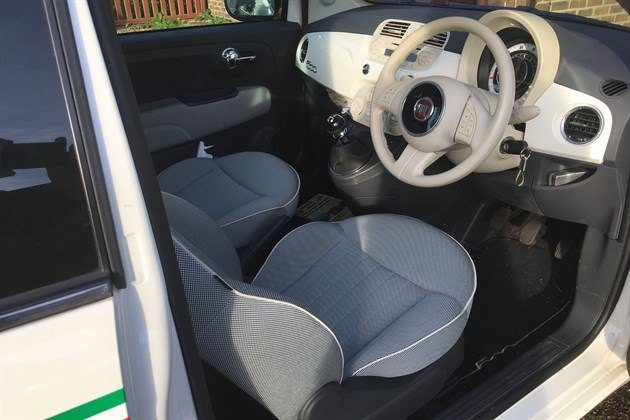 FIAT 500 Driver 's Seat